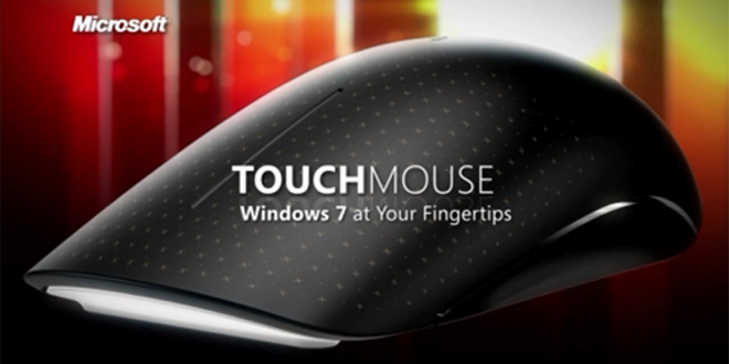 Мишка Microsoft Touch Mouse за Windows 7 и 8