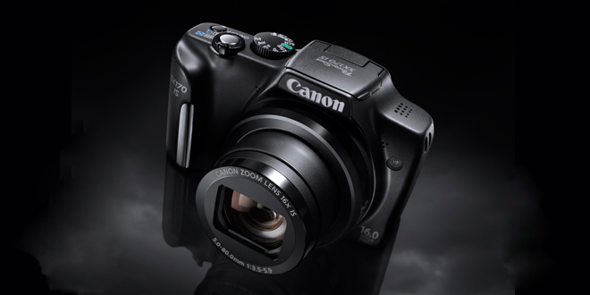 Цифров фотоапарат Canon PowerShot SX170 IS